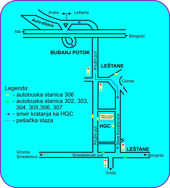 leštane mapa HidroGeoCentar d.o.o.   Lokacija   istražno bušenje, izrada bunara  leštane mapa